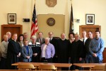 Swearing-in County Officers 2008