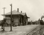 Gladwin's Train Station in 1915